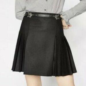The kooples wool mini skirt